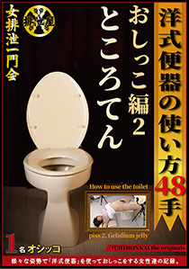 How to use western style toilet 48 species