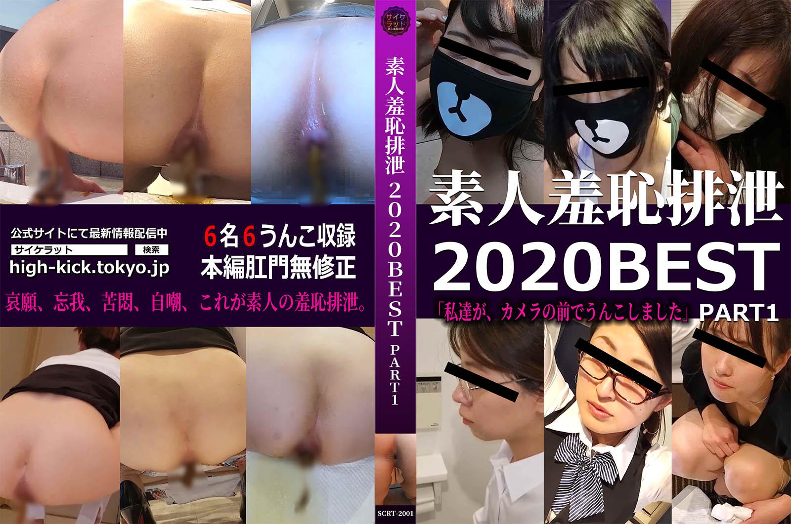 【サイケラット】素人羞恥排泄2020BEST PART1「私達が、カメラの前でうんこしました」 【委託作品】